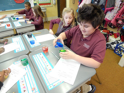 2nd Grade - Science Experiments with Colors