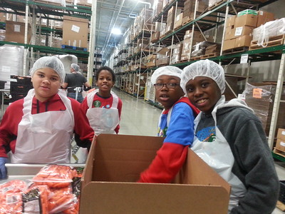 4th Grade Service - Chicago Food Depository