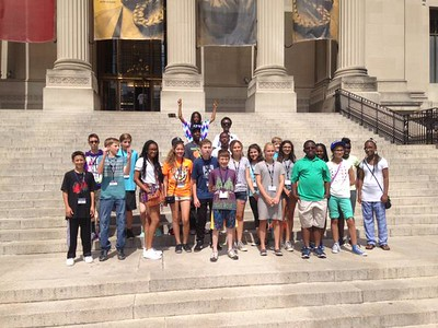 Middle School Colonial History Trip 2015