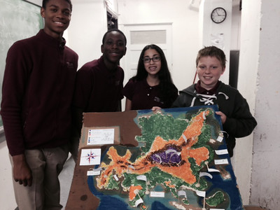 Eighth Grade - Mapping the World by Heart