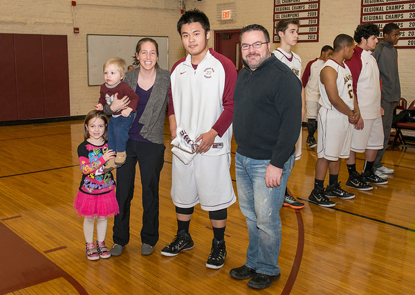 Boys' Basketball Senior Night vs. Northridge Prep