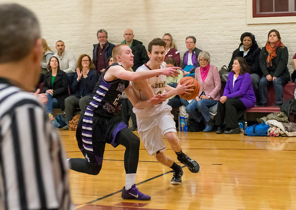 Boys' Basketball vs. North Shore Country Day School