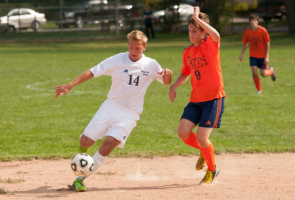 Boys' Soccer vs. Latin