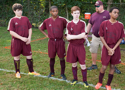 Middle School Boys' Soccer vs. U-High