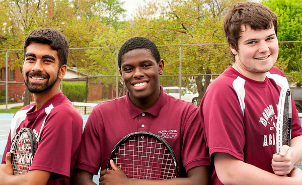 Boys' Tennis vs. U-High