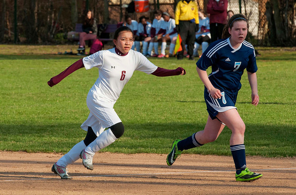 Girls' Soccer vs. Willows Academy